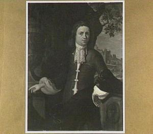 Portret van een man, wellicht een lid van het geslacht Van der Sluijs