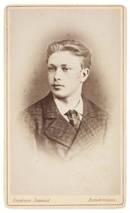 Portret van Frederik Willem van de Poll (1860-1903)