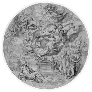 De val van Phaeton (Metamorphoses 2:150-327) en de verandering van de Heliaden in populieren (Metamorphoses 2:346)