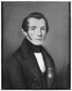Portret van Johan Pieter Cornets de Groot (1808-1878)