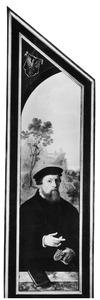 Portret van Sybrant Occo (1514-1587)