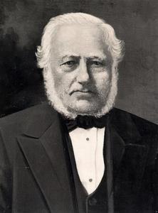Portret van Ariën Commandeur (1805-1889)