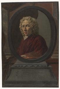 Zelportret van Jan Hoogsaat (1654-1730)