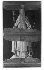 De H. Clemens (op de voorzijde: de opstanding)