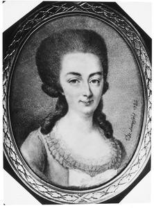 Portret van Adelgonda Christina Wolthers (1752-1802)
