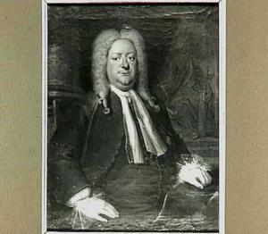 Portret van Geleyn Hurgronje (1683-1727), koopman, burgemeester van Vlissingen