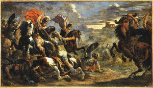 Ruitergevecht tussen Romeinen