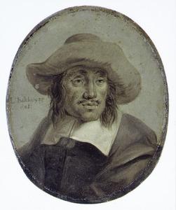 Portret van Hendrik Jacobsz. Dubbels (1621-1707)