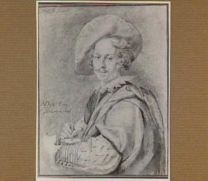 Portret van de schilder Anthony van Dyck