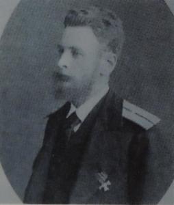 Portretfoto van Sergey Alexandrovich Stroganov (1852-1923)