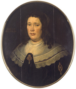 Portret van een onbekende 48-jarige vrouw