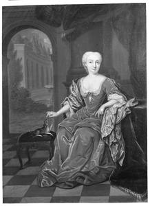 Portret van Isabella Sophia van der Maelen (1702-1788)