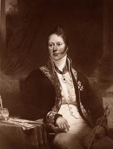 Portret van Jan Maximiliaan baron van Tuyll van Serooskerken (1771-1843)