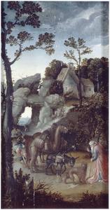 De legende van de H. Hieronymus en de dieren