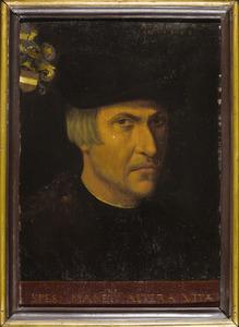 Portret van Allert Boelens (1479-1551)