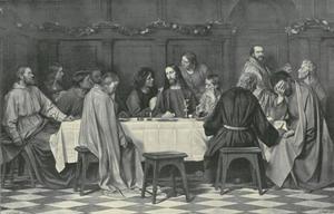 Christus kondigt tijdens het Laatste Avondmaal aan dat hij verraden  zal worden
