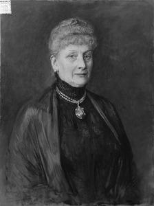 Portret van Elisa Leopoldina Maria van der Kun (1848-1922)
