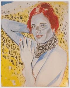 Portret van Frieda van Voorst (1949-)