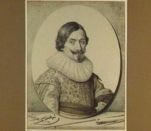 Portret van de schilder Frans Gijsels II (ca. 1600-1660)
