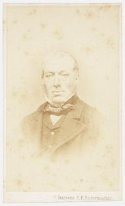 Portret van Adrianus van den Ham van Heyst (1811-1877)
