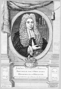 Portret van Johannes Jacobus van Reenen (1692-1779)