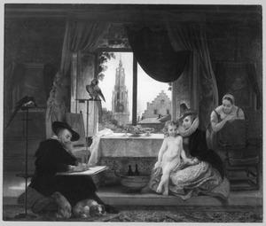 Peter Paul Rubens aan het werk