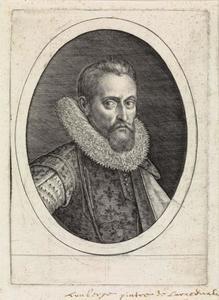 Portret van Wenzel Coebergher (1560-1634)