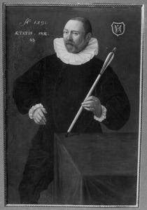 Portret van een man, waarschijnlijk Cornelis Vervoorn (1546/1547- )
