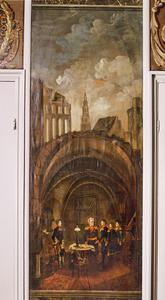 Baron Chassé geeft zich in 1832 in de kapotgeschoten citadel van Antwerpen over