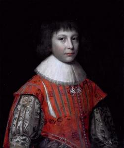 Portret van Frederik Hendrik prins van de Palts (1614-1629)
