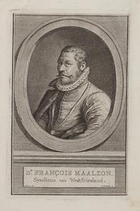 Portret van Francois Maelson (1538-1602)
