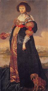 Portret van prinses Magdalena Sibylla (1617-1668)