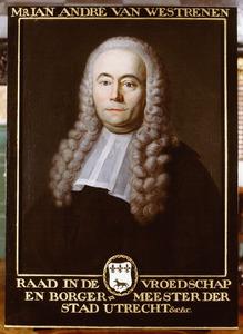 Portret van Jan Andre van Westrenen (1712-1790)