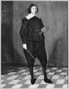 Zelfportret van Jan Jansz. de Stomme (1615-?)