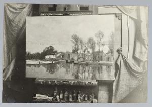 De rivier de Vecht bij Nieuwersluis