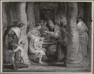 De doop van keizer Constantijn