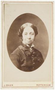 Portret van Anna Jacoba Alberda van Ekenstein (1825-1907)