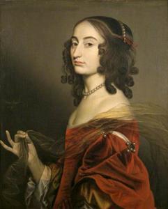 Portret van Louise Hollandine, 2de dochter van Frederik V van de Palts (1622-1709)