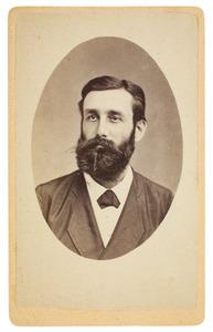 Portret van Gijsbert Karel baron van Hogendorp (1844-1879)