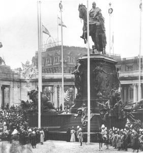 Eeuwfeest-monument voor Keizer Wilhelm I
