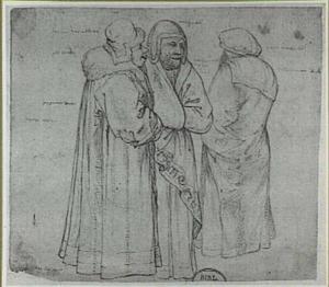 Drie staande Joden