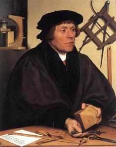 Portet van Nikolaus Kratzer (1487?-1550)