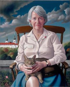 Portret van Prof. Nicolette Mout