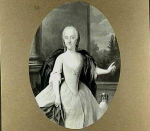 Portret van Constantia Catharina Sautijn (1712-1782)