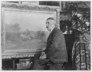 Portret van de schilder Mari ten Kate