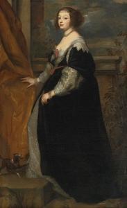 Portret van Béatrice de Cusance (1614-1663), later prinses de Cantecroix, hertogin de Lorraine
