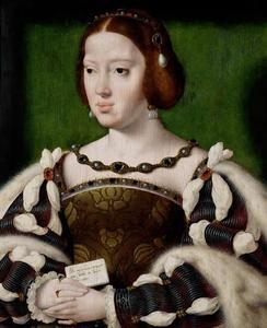 Portret van Eleonora van Oostenrijk, koningin van Frankrijk (1498-1558)