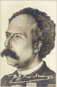 Portret van Willem Gerard van Nouhuys (1854-1914)