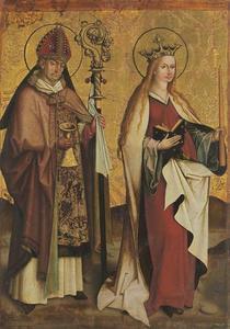 Heilige Eligius en Heilige Genoveva