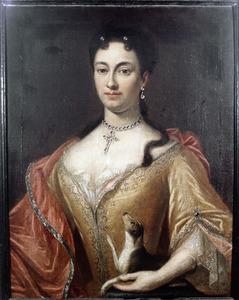Portret van Johanna Cremer ( -1735)
